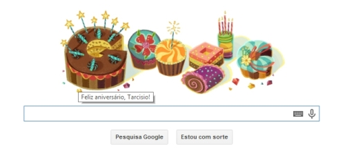 Doodle Google - Homenagem pelo aniversário